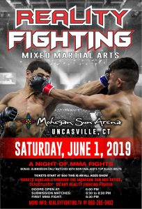 Reality Fighting - June 1, 2019 @ Mohegan Sun Arena | Montville | Connecticut | United States