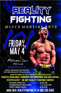 Reality Fighting - May 4 @ Reality Fighting | Montville | Connecticut | United States