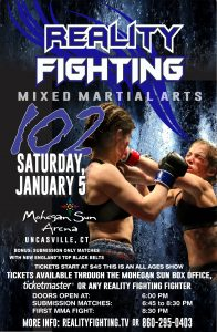 Reality Fighting - January 5, 2019 @ Mohegan Sun Arena | Montville | Connecticut | United States