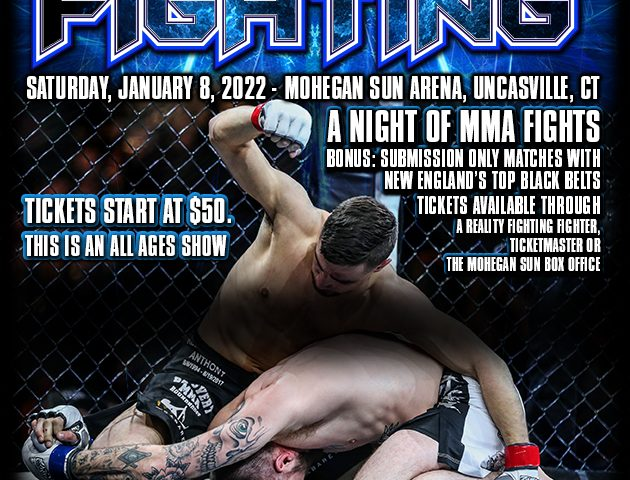 Reality Fighting 1/8/22 Poster